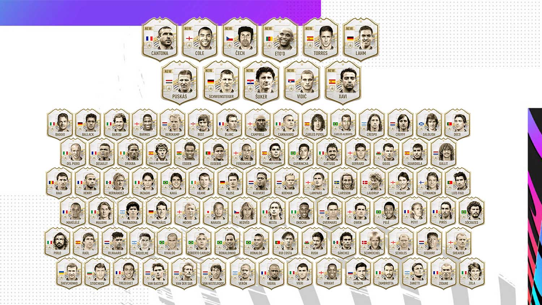 FIFA 21 FUT Icons