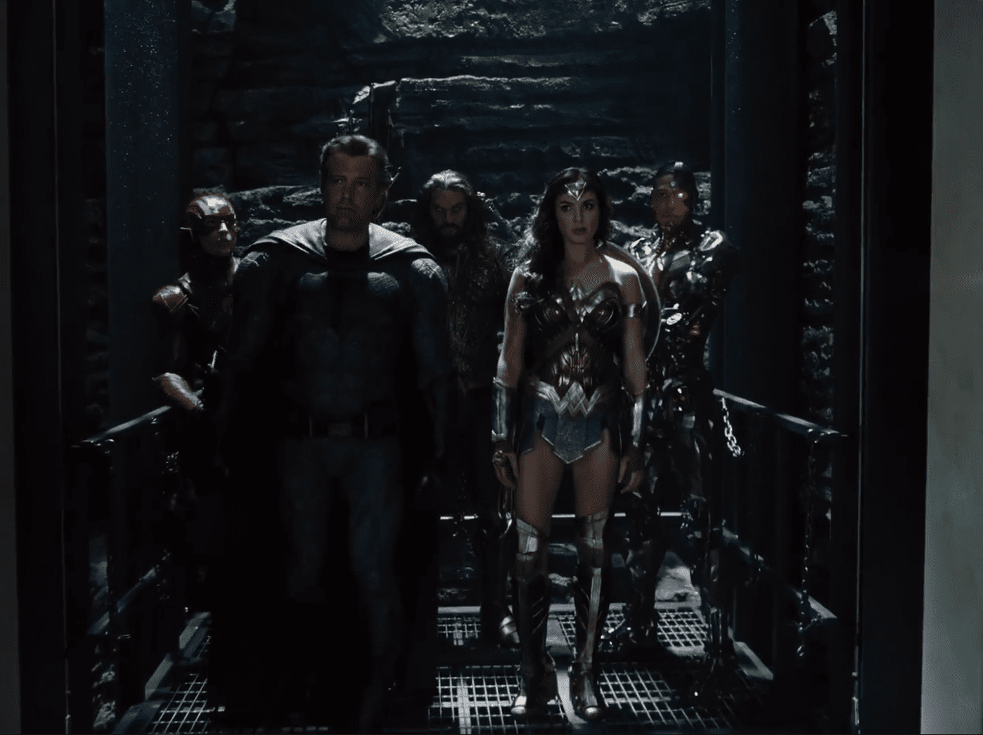 Snyder Cut Equipo Completo