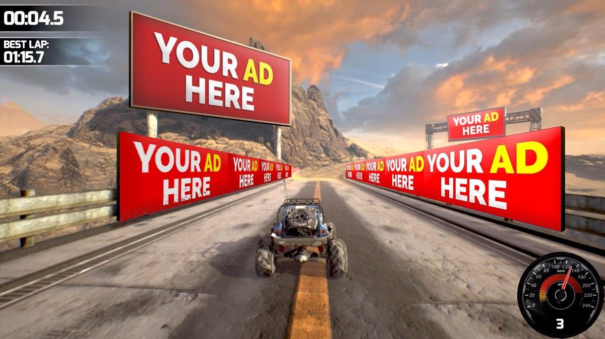 Anuncios Publicitarios en juegos